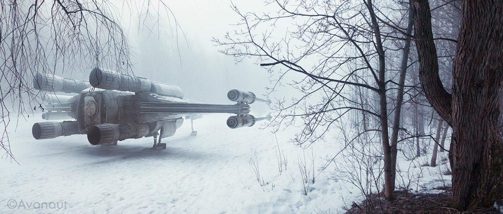 X-Wing Fogged Flickr