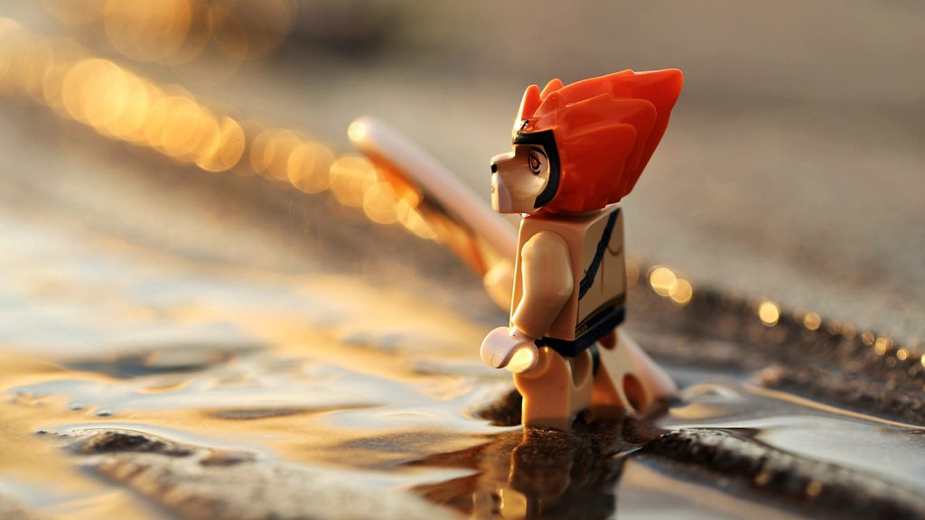 Lego-toy-photography-chima-sunset
