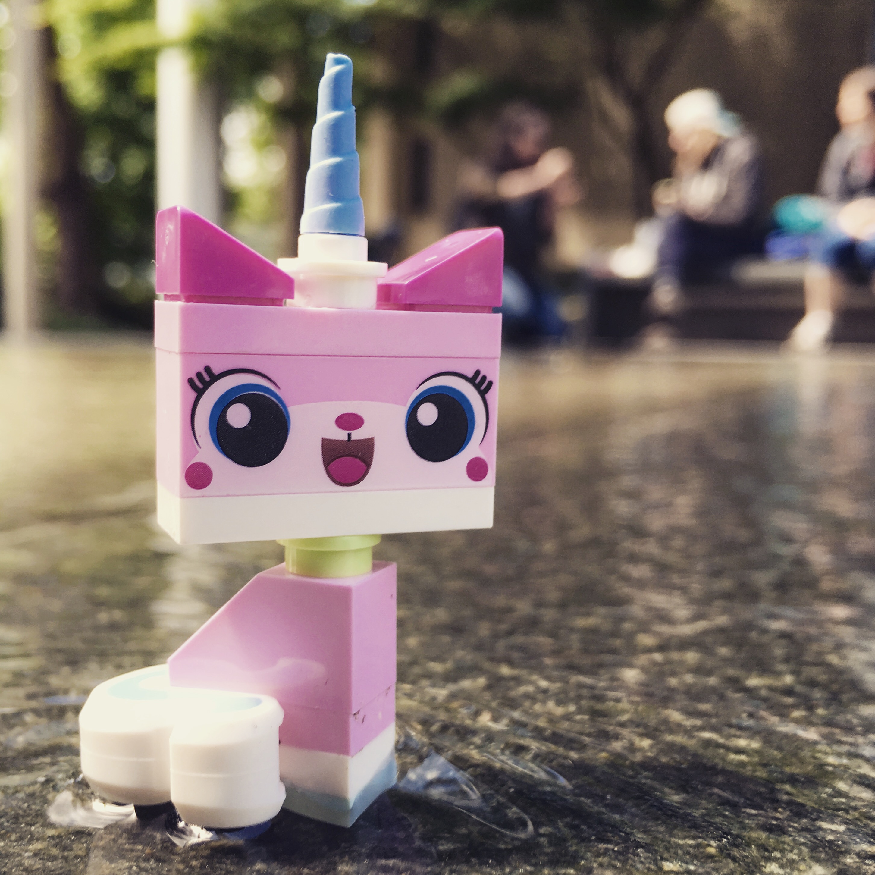 Lego-unikitty-outdoor-toy-photography
