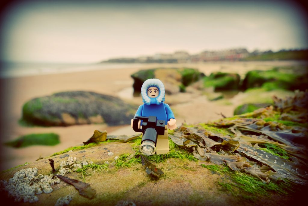 Nich Sweetman - Minifignick - Whitley Bay, Newcastle, UK -The Cold North East