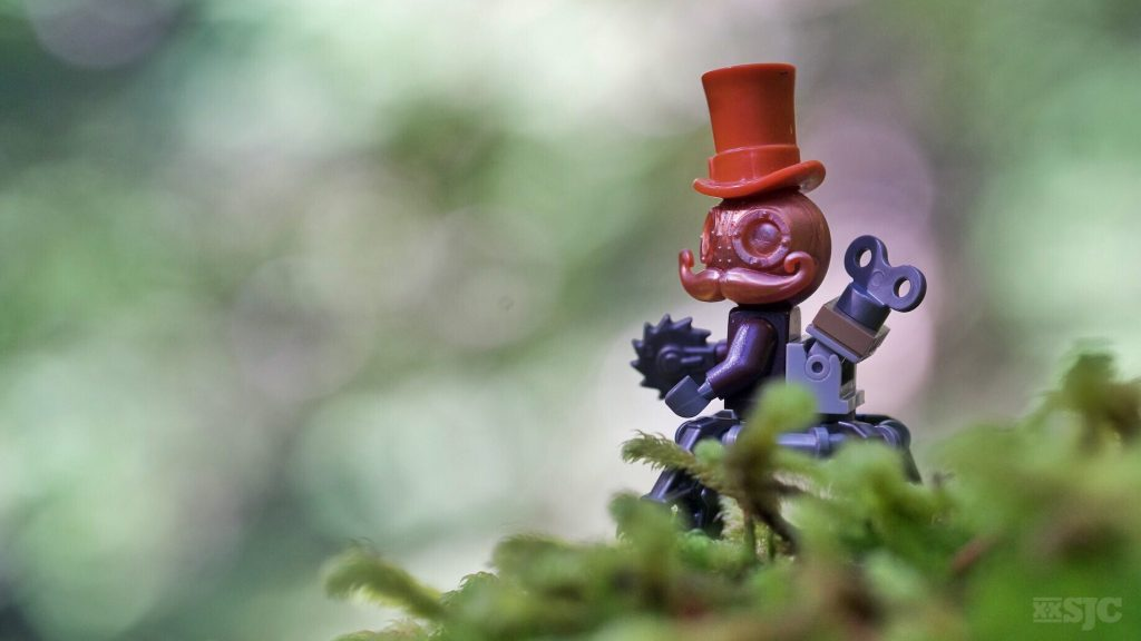 What is the coolest figure you ever found at a LEGO convention?