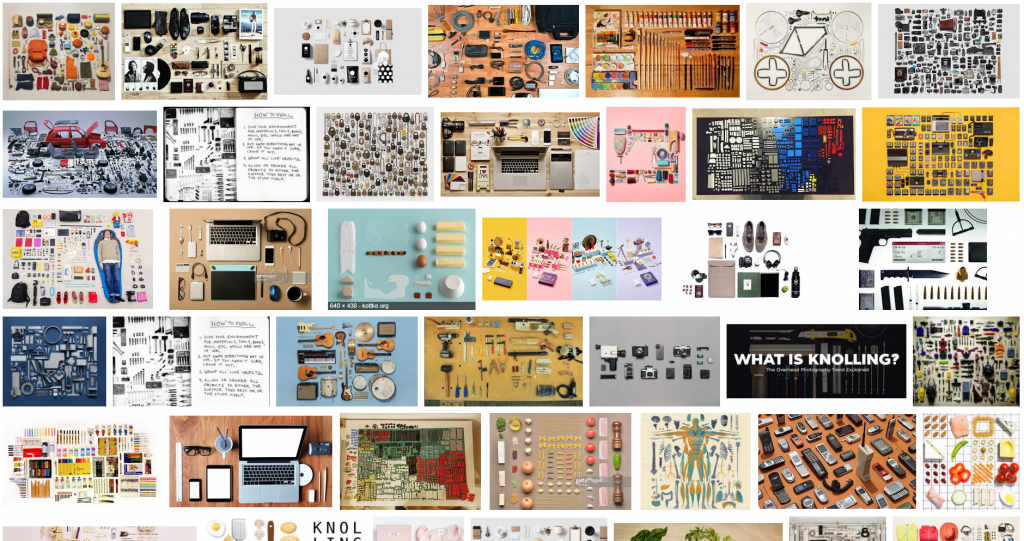 Knolling on Google Images