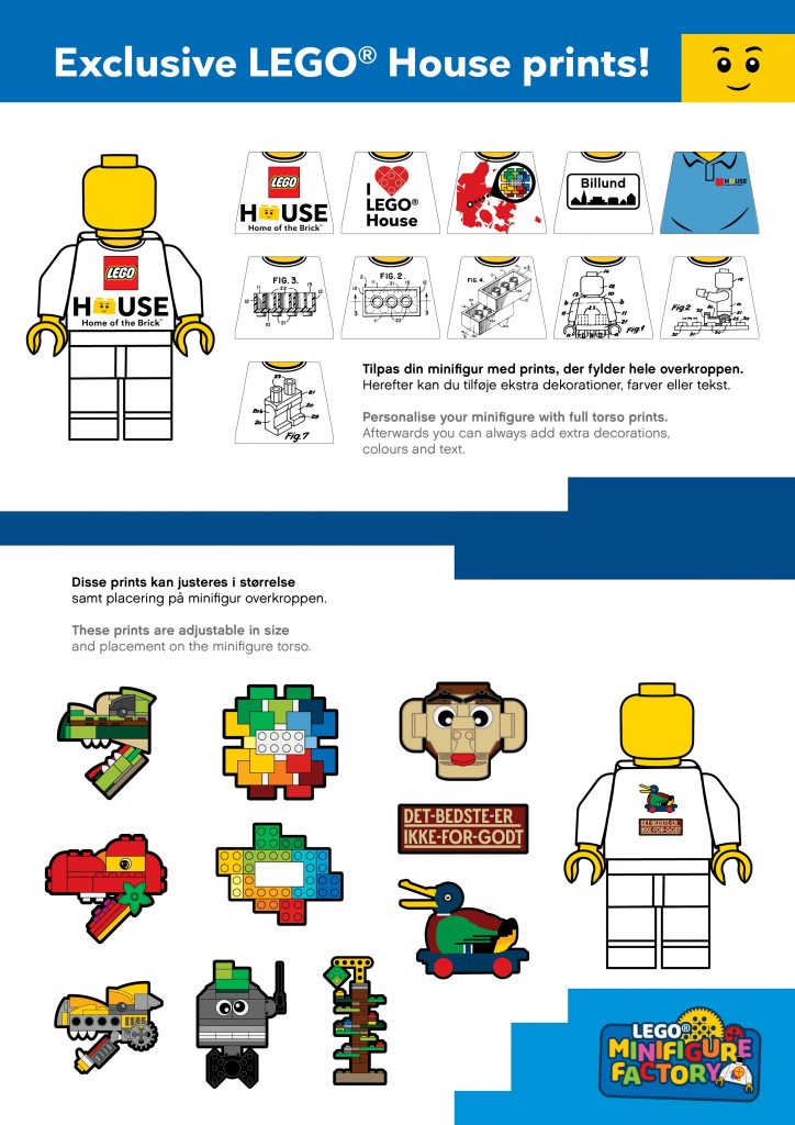 Exclusive LEGO House Prints